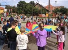 Padobran - aktivnost kretanja i suradnje