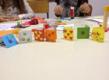 Mini origami mape za porukice