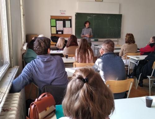 ODRŽANE EDUKATIVNE RADIONICE U ŠKOLI PRIMJENJENE UMJETNOSTI I DIZAJNA